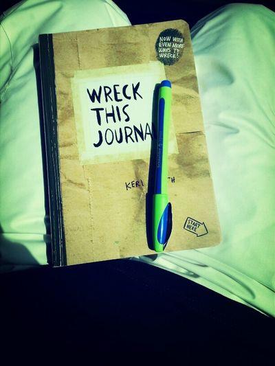 Ski Book Pen Journa