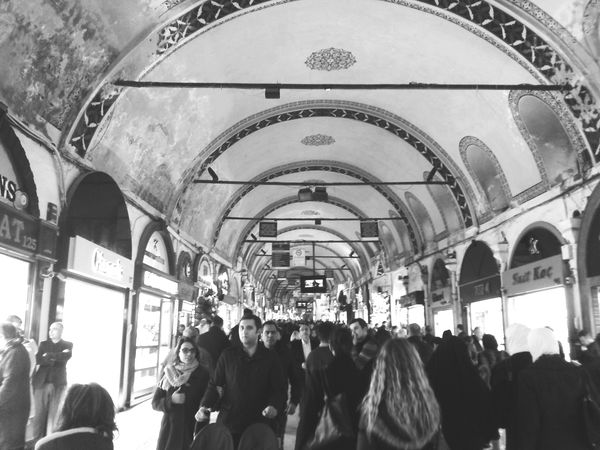 EyeEm Best Shots - People + Portrait People Photography Monochrome Blackandwhite Photography Blackandwhite Grand Bazaar Todays Shot Shopping Silhouette Everyday Joy