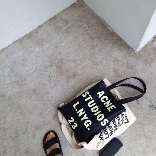 Acne Studios Street Fashion Sandals Bag