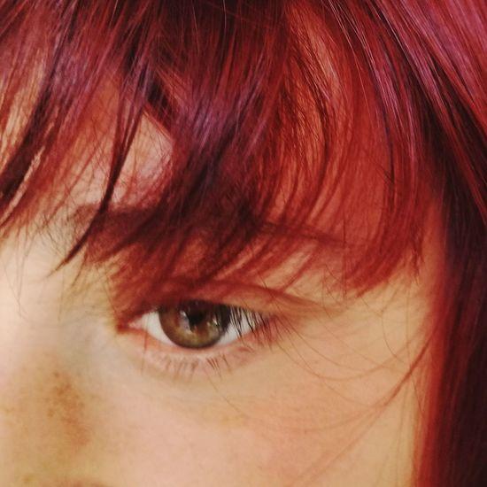 Redhead Human