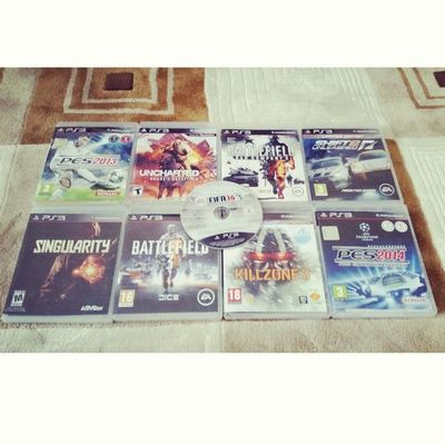 Game Playstation Ps3 Ps pes fifa14 singularity uncharted battlefield killzone nfs needforspeed shift fifa proevolutionsoccer psn playinggames online photooftheday onlinegaming videogameaddict instagame instagood video winning play playing