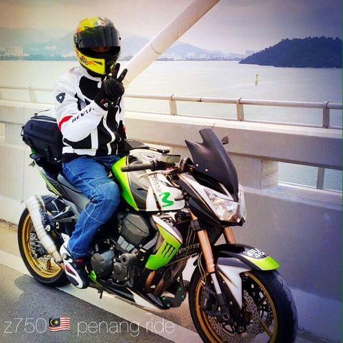 Z750  Malaysia Ride to Penang Agv Kawasaki