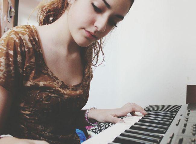 Taking Photos That's Me Piano Practice Enjoying Life