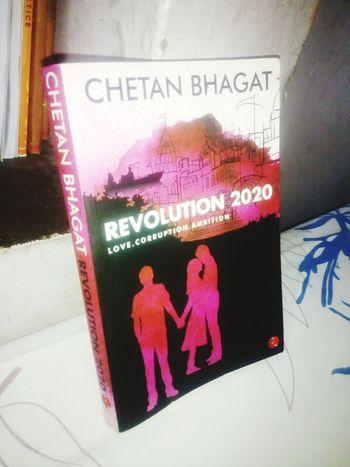 Book Chetan Bhagat Book ChetanBhagat Chetan_bhagat Revolution 2020 Pink Love Love Triangle Love ♥ Holding Hands Embrace Hug Kiss Black White Paperback New Book
