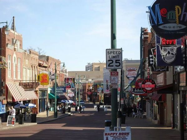 World famous Beale Street, such a fun place Memphis Beale Street! Tennessee Home Of The Blues