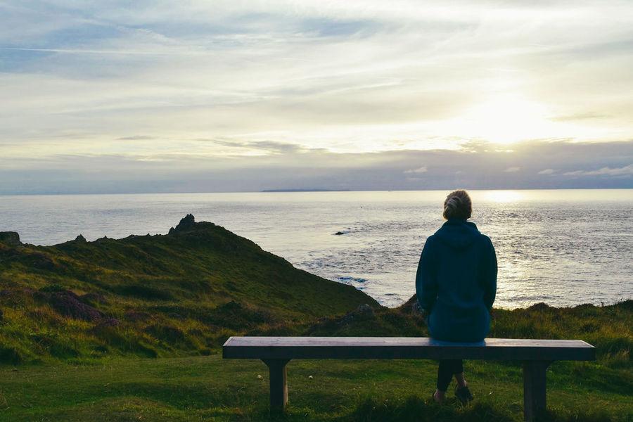 Outdoors Endless Atlantic Ocean Woolacombe, Devon