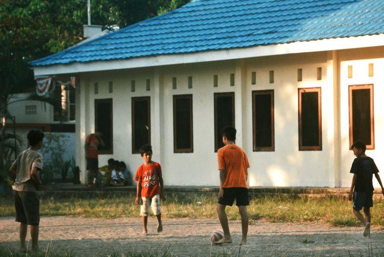 Human Interest Indonesia Football Children Playing Photooftheday EyeEm Best Shots