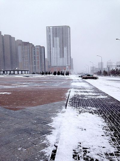 Taking Photos Severeweather Winter Wintertime Astana Kazakhstan Travel OpenEdit It's Cold Outside