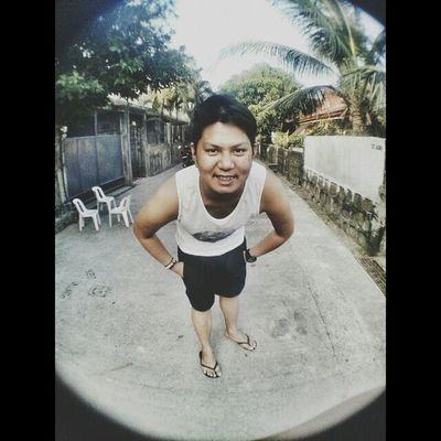 Try lang po :) Fisheye Selfie