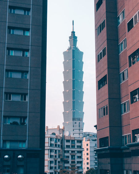 101 101 Taipei Canon700D Apartment Architecture Building Building Exterior Built Structure Canon Canon_photos Canonphotography City Cityscape Day Modern No People Outdoors Residential  Sky Skyscraper Tower Travel Destinations