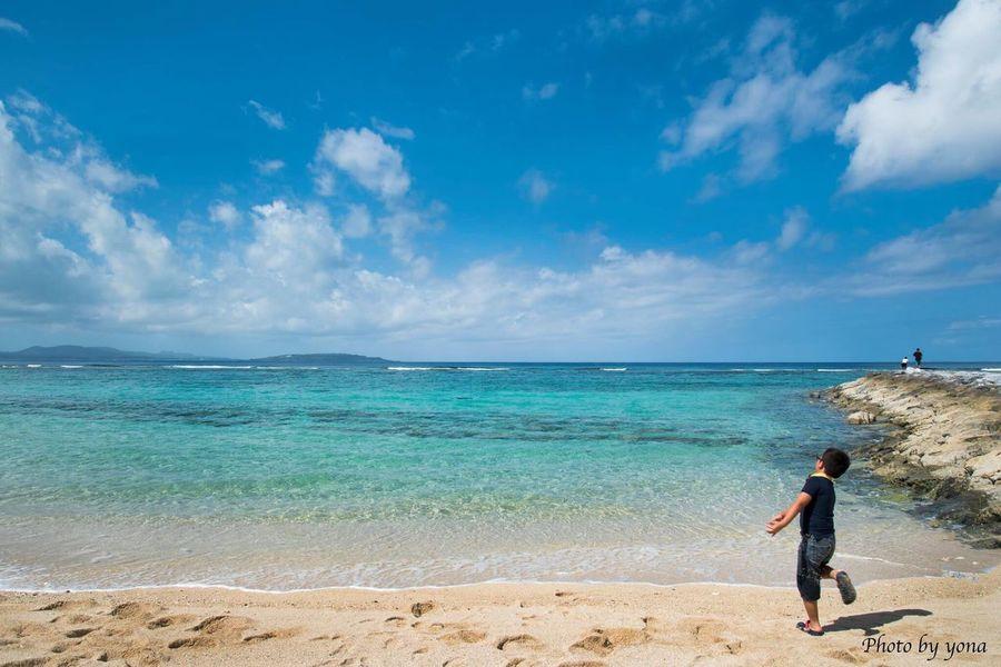 沖縄 日本 北部 海 風景 空 青空 人 Sea Japan Enjoying Life Hello World Sky Sky_collection Natural Okimawa The Blue Sky Hi!