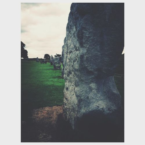Spiritual stones Stones Spirituality Transfer Print Plant Auto Post Production Filter Sky Grass Cloud - Sky Nature Landscape No People Tree Tranquil Scene Scenics - Nature Tranquility Beauty In Nature Environment Outdoors Land