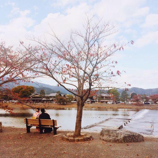 Japan,koyto Arashiyama Travel Couple Picture Landscape