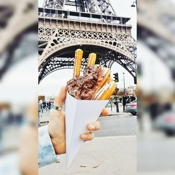 Churrosconchocolate Churro Pornphotography Pornfood Foodporn Food Porn Food Photography PornFoodMemories Pornfoods PornFoodAwards Paris Paris ❤