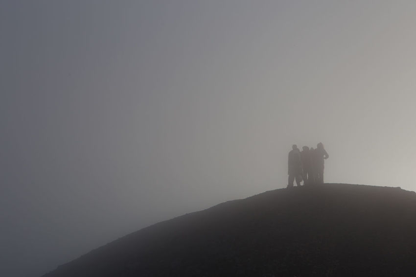 Walking throw the clouds on Acatenango volcano, Guatemala. Adventure Beauty In Nature Clouds Day Fog Foggy Hiking Landscape Misty Nature Outdoors Sky Travel Destinations Walking