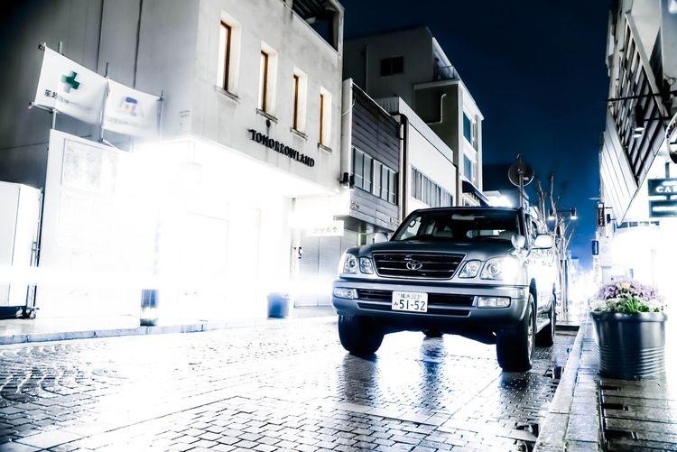 DSLR Land Cruiser Prado Longshutter Car Hello World