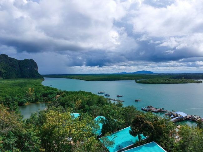 Landscape Nature Heaven Hill Travel Photography Traveling Mountain Beauty In Nature Thailand Asian  Backgrounds Cloud - Sky Water Sky Scenics - Nature Beauty In Nature Nature Tranquility Transportation Nautical Vessel No People Sea Day Outdoors Blue Land Tranquil Scene