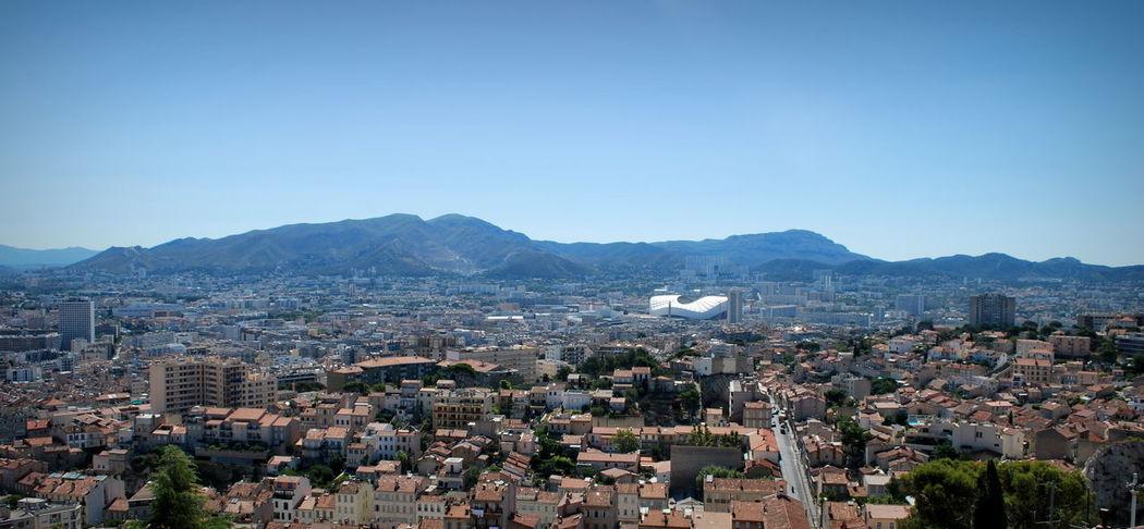 Cityscape Marseille Marseille, France Velodrome Stadium