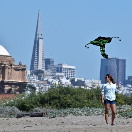 Architecture Beach Photography City Life Crissy Field Full Length Kite Transamerica Pyramid Original Experiences