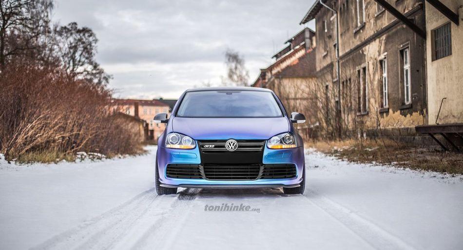 VW 4motion R32 Golf Car Snow ❄ Volkswagen Volkswagen Golf