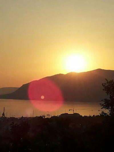 Sea View Realax :) Beautiful Sunset Beauty Of Montenegro