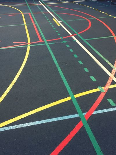 Track And Field Multi Colored Sports Track Running Track No People Day Sport