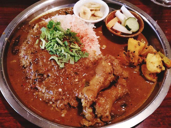 チキンカリー Food Curry Lunch