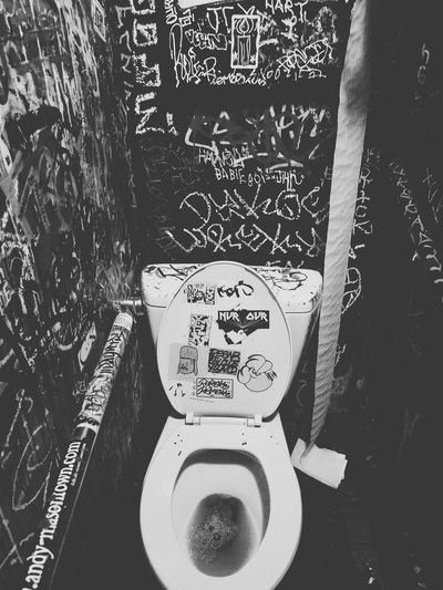 Ruby Room restroom. My favorite bar in Oakland. Black & White Bllack And White Photography Urban Art Oakland, Ca. Bar Restroom Communication