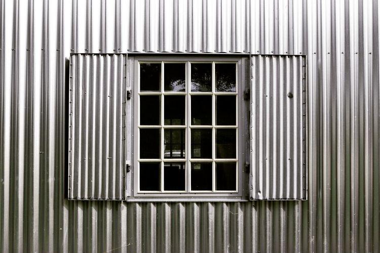 Window of building
