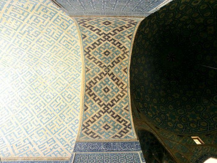 Islamic Architecture Yazd Tiling Iran Shot First Eyeem Photo Brick Jame Mosque Iran