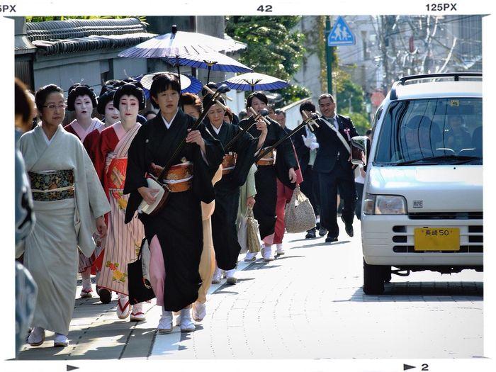 Nagasaki kunchi festival : 諏訪入り( Goes to Suwa shinto shrine ) Streetphoto_color Peoples 和華蘭(Nagasaki Culture) Oct 7, 2010