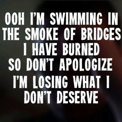 Music Art Foo Fighters Song Lyrics Burning Bridges