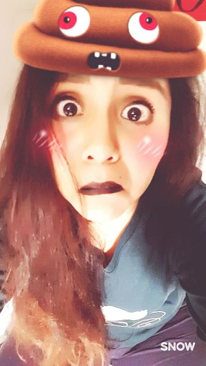 😅💩💩 Funny Faces Funny Moments One Person Looking At Camera Day Beautiful Woman One Young Woman Only Lol ^.^ HAAHHAHAAHAHAH LOL!