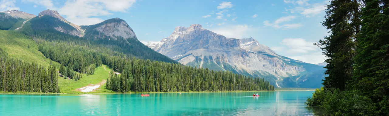 Emerald lake panoramic view Panoramic View Beauty In Nature British Columbia Canada Emerald Emerald Green Emeraldgreen Lake Landscape Mountain Mountain Range Nature Outdoors Panoramic Landscape Panoramic Photography Reflection Scenics Tranquil Scene Tranquility Travel Destinations Water Lost In The Landscape Perspectives On Nature