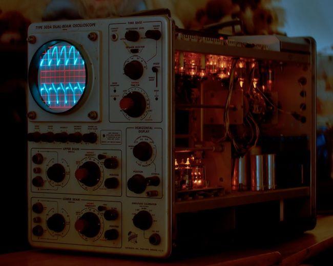 Tektronix Type 502A Oscilloscope Vacuum Tubes Antique Vintage Vintage Electronics Electronic Electronics