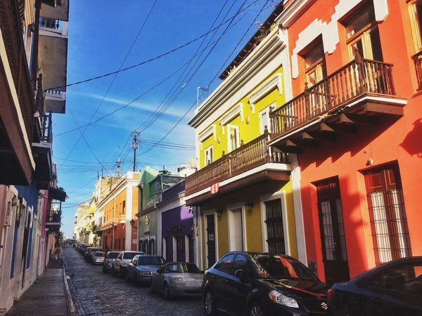 The colorful streets of Viejo San Juan, Puerto Rico. Puerto Rico Viejo San Juan The Explorer - 2014 EyeEm Awards The Architect - 2014 EyeEm Awards