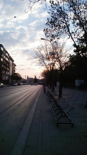 Turkey Konya OpenEdit Town Sky And Clouds On Road At Morning Quietly Eyeem Popular Photos