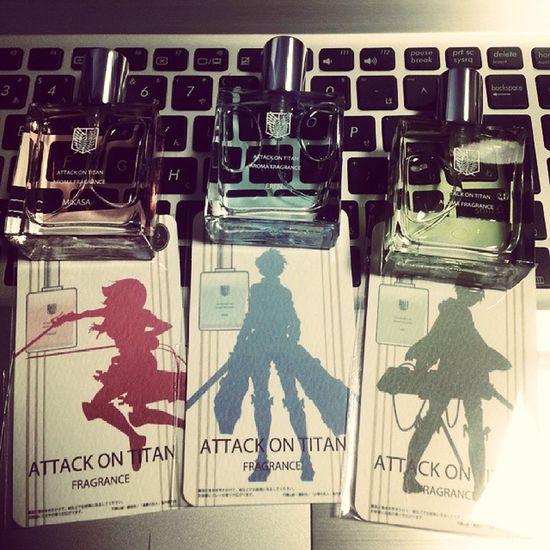 それぞれいい香り Aot Snk Mikasa Eren levi