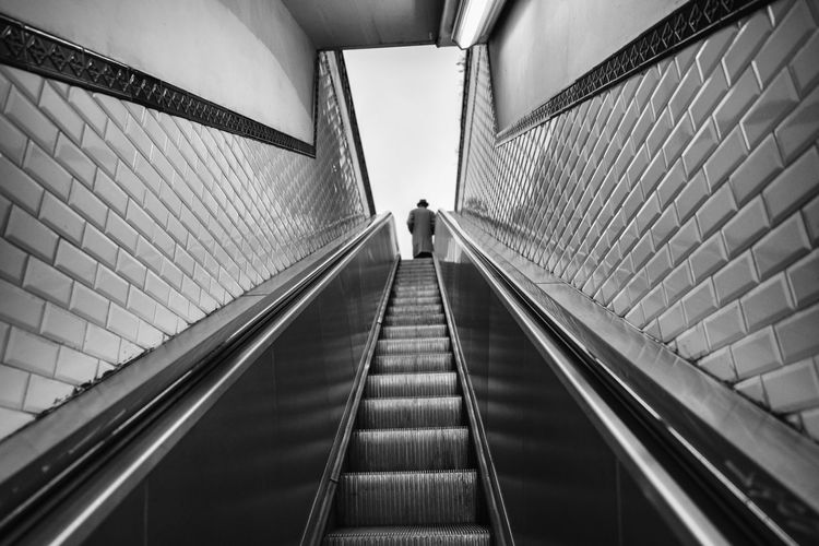 Subway Architecture Blackandwhite Subway Architecture The Way Forward Direction Built Structure Transportation Indoors  The Art Of Street Photography