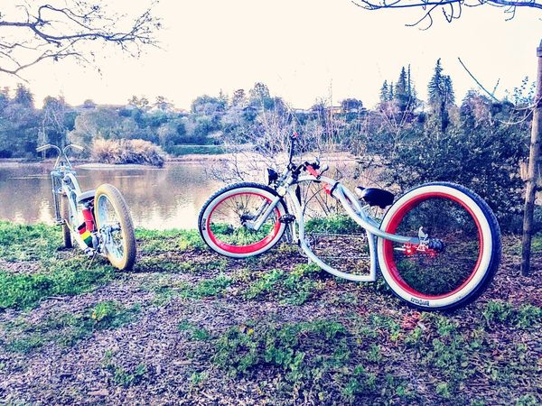 Vasona Lake Vasona Dam Riding Irie Firebike Low Life Bike Custom Cruiser Bicycle Bay Area Northern California