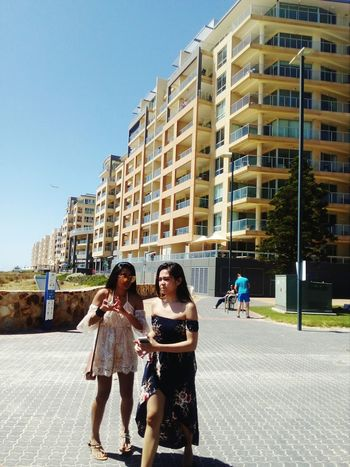 People Adult Togetherness Friendship Architecture Apartment City