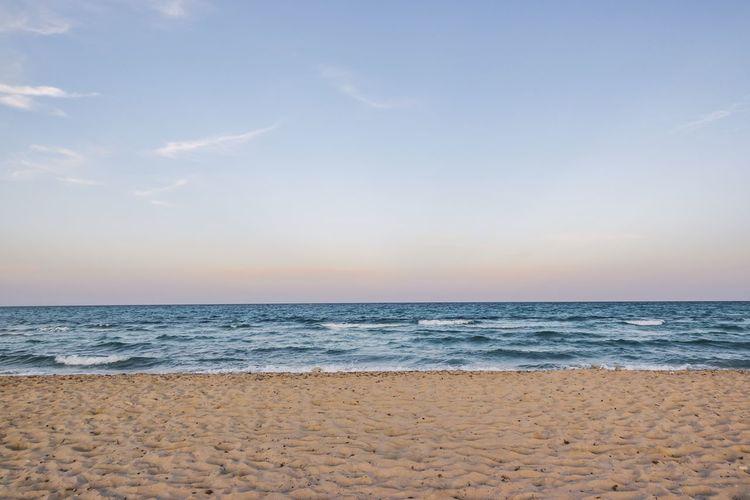 Beach, Djerba,