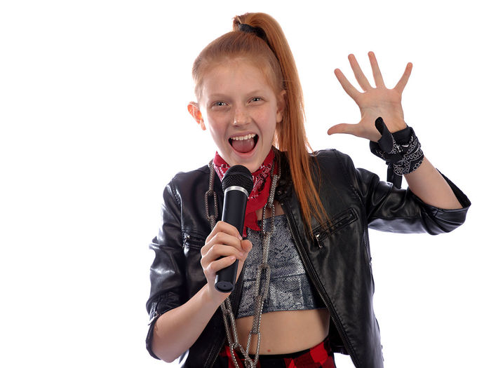I love rock n roll Red Hair Red Head Singer  Singing White Background Portrait Child Smiling Musician Cheerful Studio Shot Microphone Girls Looking At Camera Rock Musician Singer  Pop Musician Rock Music Rock Group Music Concert Performance Group Popular Music Concert Pop Rock Modern Rock Moments Of Happiness My Best Photo International Women's Day 2019 Exploring Fun The Portraitist - 2019 EyeEm Awards