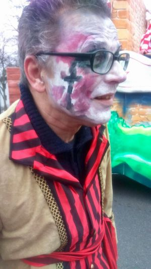 Karneval. Duesseldorf. That's me. Very exhausted. 😀. 23669