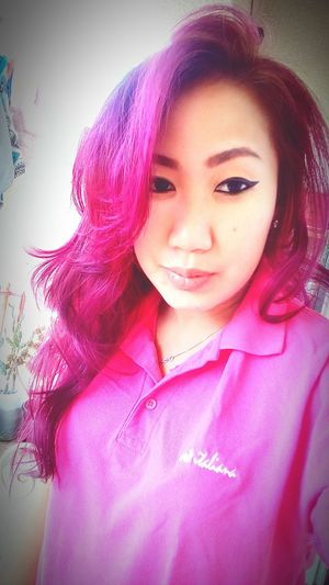 Uniform match my Hair Pinkhair
