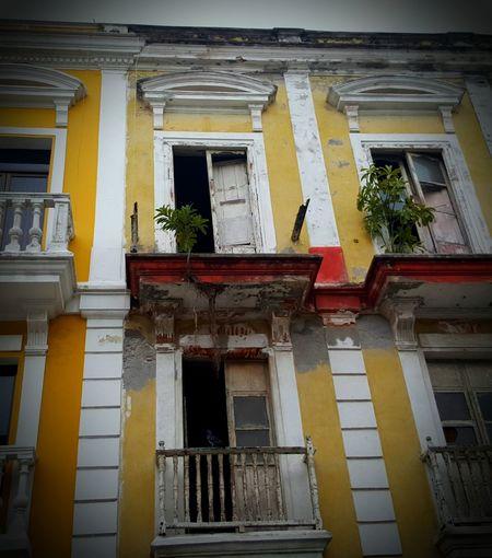 Facade Veracruz Mexique memoire