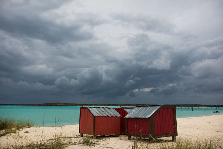 photos from my cruise to the bahamas. Beach Beach Hut Cloud Cloud - Sky Day Dramatic Sky Landscape Nature No People Outdoors Sand Sea Sky
