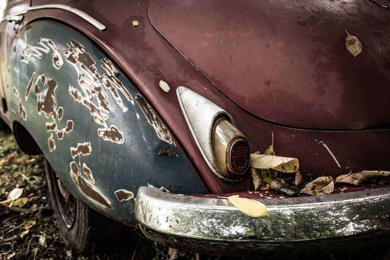 Fender Autounion Car Car Wing Close-up Mud Wing Oldtimer Rust