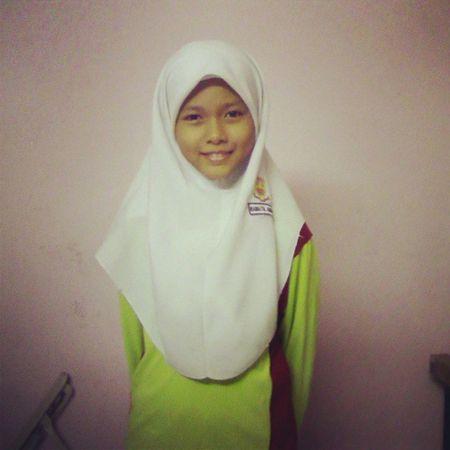 Abg Lang Abby Ada spelling test Pg ni.. all da best my little Sakai.. Love Sister Portklang
