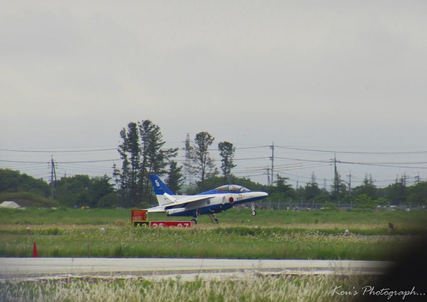 Blue Impulse No.5 飛行機 航空自衛隊 Blue Impulse